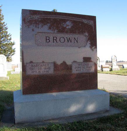 BROWN, MARGARET - Tama County, Iowa | MARGARET BROWN