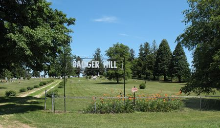 BADGER HILL, GLADBROOK, CEMETERY - Tama County, Iowa | CEMETERY BADGER HILL, GLADBROOK