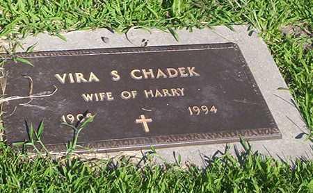 SMITH CHADEK, VIRA - Tama County, Iowa | VIRA SMITH CHADEK