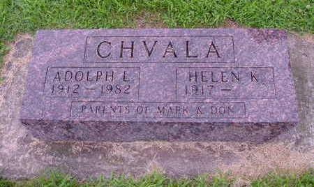 CHVALA, HELEN - Tama County, Iowa | HELEN CHVALA
