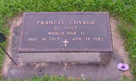 CHVALA, FRANCIS - Tama County, Iowa | FRANCIS CHVALA