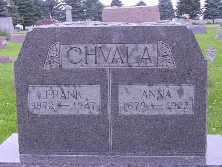TESAR CHVALA, ANNA - Tama County, Iowa | ANNA TESAR CHVALA