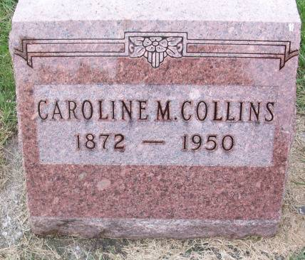 COLLINS, CAROLINE - Tama County, Iowa | CAROLINE COLLINS