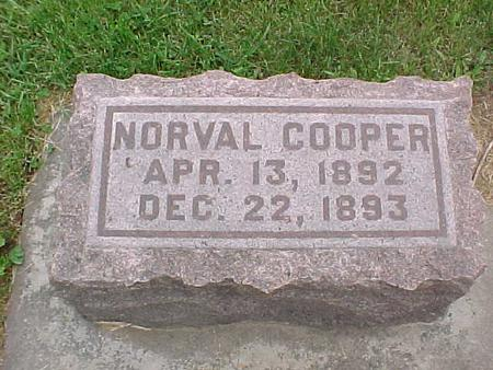 COOPER, NORVAL - Tama County, Iowa | NORVAL COOPER