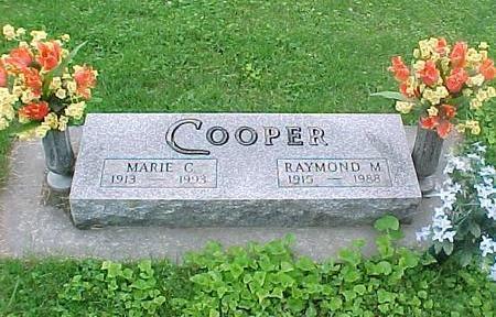 COOPER, MARIE C. - Tama County, Iowa | MARIE C. COOPER