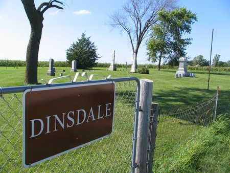 DINSDALE, CEMETERY - Tama County, Iowa | CEMETERY DINSDALE