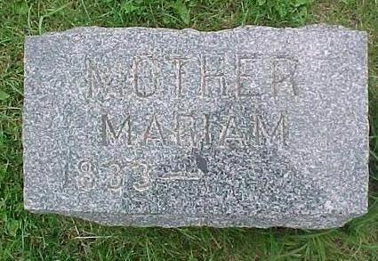 DOBSON, MARIAM - Tama County, Iowa | MARIAM DOBSON