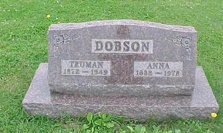 DOBSON, ANNA - Tama County, Iowa | ANNA DOBSON