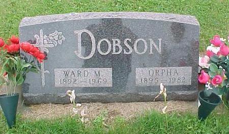 DOBSON, ORPHA - Tama County, Iowa | ORPHA DOBSON