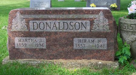 DONALDSON, HIRAM NORTON - Tama County, Iowa | HIRAM NORTON DONALDSON