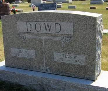 DOWD, IDA MARIA - Tama County, Iowa | IDA MARIA DOWD