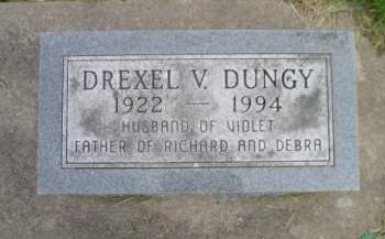 DUNGY, DREXEL V - Tama County, Iowa | DREXEL V DUNGY
