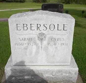 EBERSOLE, SARAH - Tama County, Iowa | SARAH EBERSOLE