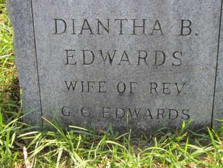 BUNCE EDWARDS, DIANTHA - Tama County, Iowa | DIANTHA BUNCE EDWARDS
