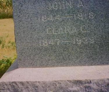 ERICKSON, JOHN A. - Tama County, Iowa | JOHN A. ERICKSON