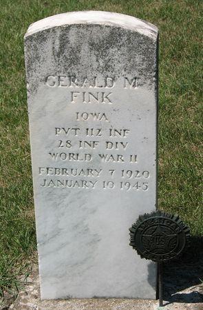 FINK, GERALD M. - Tama County, Iowa | GERALD M. FINK