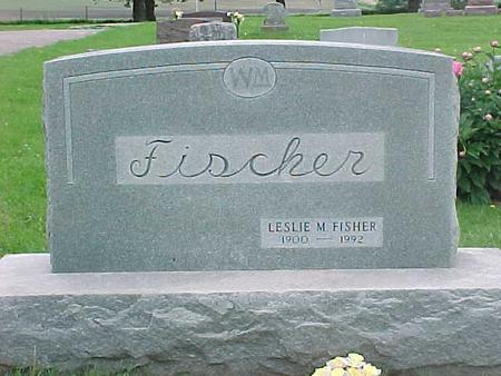 FISHER, LESLIE M. - Tama County, Iowa | LESLIE M. FISHER