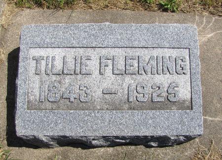 FLEMING, TILLIE - Tama County, Iowa | TILLIE FLEMING