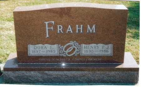 REHBERG FRAHM, DORA - Tama County, Iowa | DORA REHBERG FRAHM