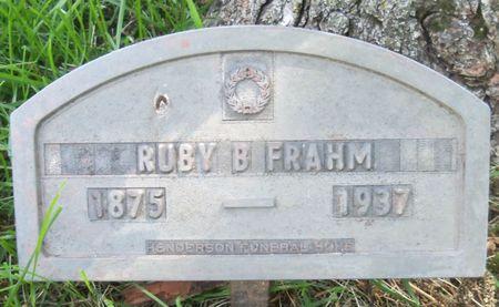 FRAHM, RUBY - Tama County, Iowa | RUBY FRAHM