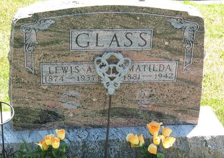 GLASS, MATILDA - Tama County, Iowa | MATILDA GLASS
