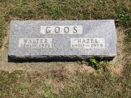 GOOS, HAZEL - Tama County, Iowa | HAZEL GOOS
