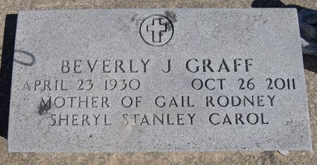 GRAFF, BEVERLY - Tama County, Iowa | BEVERLY GRAFF