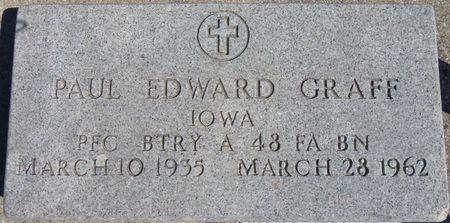 GRAFF, PAUL - Tama County, Iowa   PAUL GRAFF