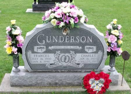 GUNDERSON, CHARLES - Tama County, Iowa   CHARLES GUNDERSON