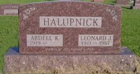 HALUPNICK, ARDELL - Tama County, Iowa | ARDELL HALUPNICK