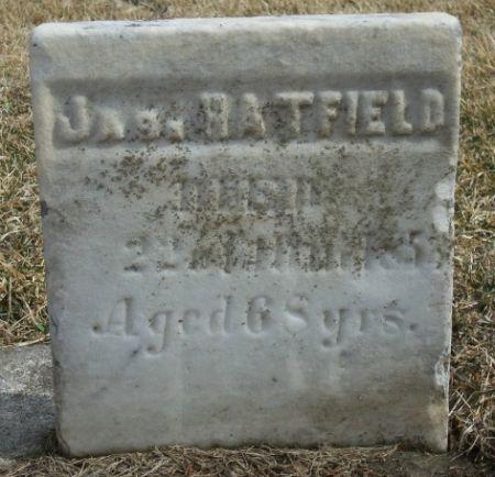 HATFIELD, JAS. - Tama County, Iowa | JAS. HATFIELD