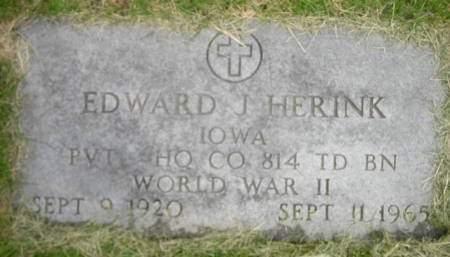 HERINK, EDWARD JOE SR - Tama County, Iowa | EDWARD JOE SR HERINK
