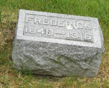 HOFER, FREDERICK - Tama County, Iowa | FREDERICK HOFER