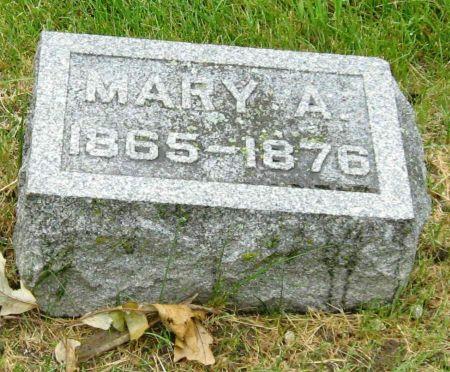 HOFER, MARY A - Tama County, Iowa | MARY A HOFER