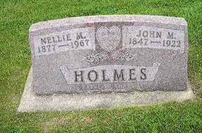 WOODMAN HOLMES, NELLIE F. - Tama County, Iowa | NELLIE F. WOODMAN HOLMES