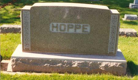 HOPPE, FAMILY STONE - Tama County, Iowa   FAMILY STONE HOPPE