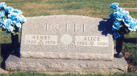 HOPPE, ALICE - Tama County, Iowa | ALICE HOPPE