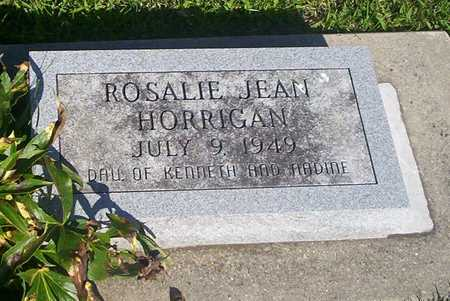 HORRIGAN, ROSALIE JEAN - Tama County, Iowa | ROSALIE JEAN HORRIGAN