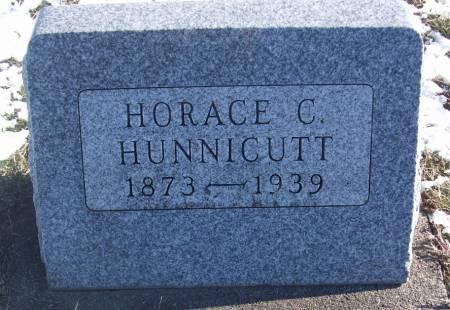 HUNNICUTT, HORACE C - Tama County, Iowa | HORACE C HUNNICUTT