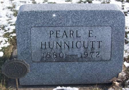HUNNICUTT, PEARL E - Tama County, Iowa   PEARL E HUNNICUTT