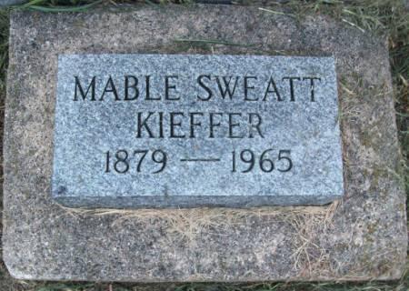 SWEATT KIEFFER, MABLE - Tama County, Iowa | MABLE SWEATT KIEFFER