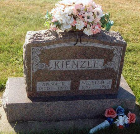 KROEGER KIENZLE, ANNA KATHARINA - Tama County, Iowa | ANNA KATHARINA KROEGER KIENZLE