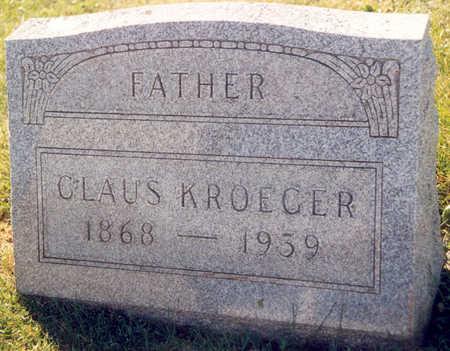 KROEGER, CLAUS - Tama County, Iowa | CLAUS KROEGER