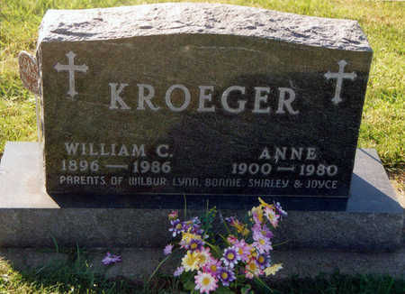 KROEGER, WILLIAM CLARENCE - Tama County, Iowa | WILLIAM CLARENCE KROEGER
