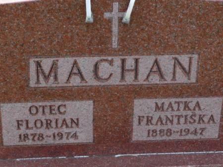 MACHAN, FRANTISKA - Tama County, Iowa | FRANTISKA MACHAN