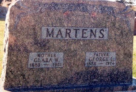 REHDER MARTENS, CLARA WILHELMINE - Tama County, Iowa | CLARA WILHELMINE REHDER MARTENS