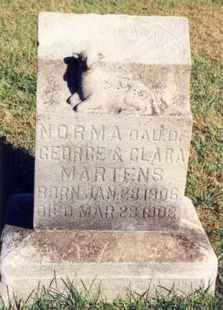 MARTENS, NORMA - Tama County, Iowa | NORMA MARTENS
