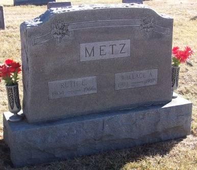 METZ, WALLACE - Tama County, Iowa | WALLACE METZ
