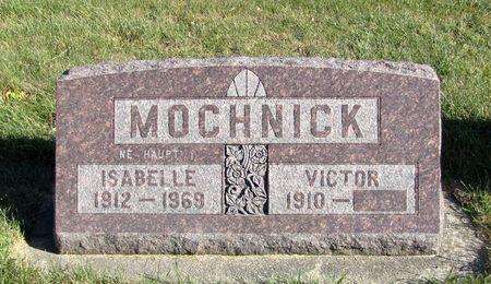 HAUPT MOCHNICK, ISABELLE - Tama County, Iowa   ISABELLE HAUPT MOCHNICK
