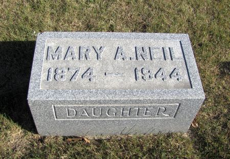 NEIL, MARY A. - Tama County, Iowa | MARY A. NEIL